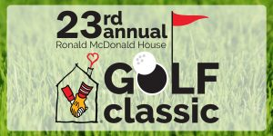 Join us for the 23rd Annual Ronald McDonald House Golf Classic on Monday, June 12, 2017 at Panther Creek Country Club!