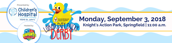 This event is presented by HSHS St. John's Children's Hospital, and is hosted by Knight's Action Park.