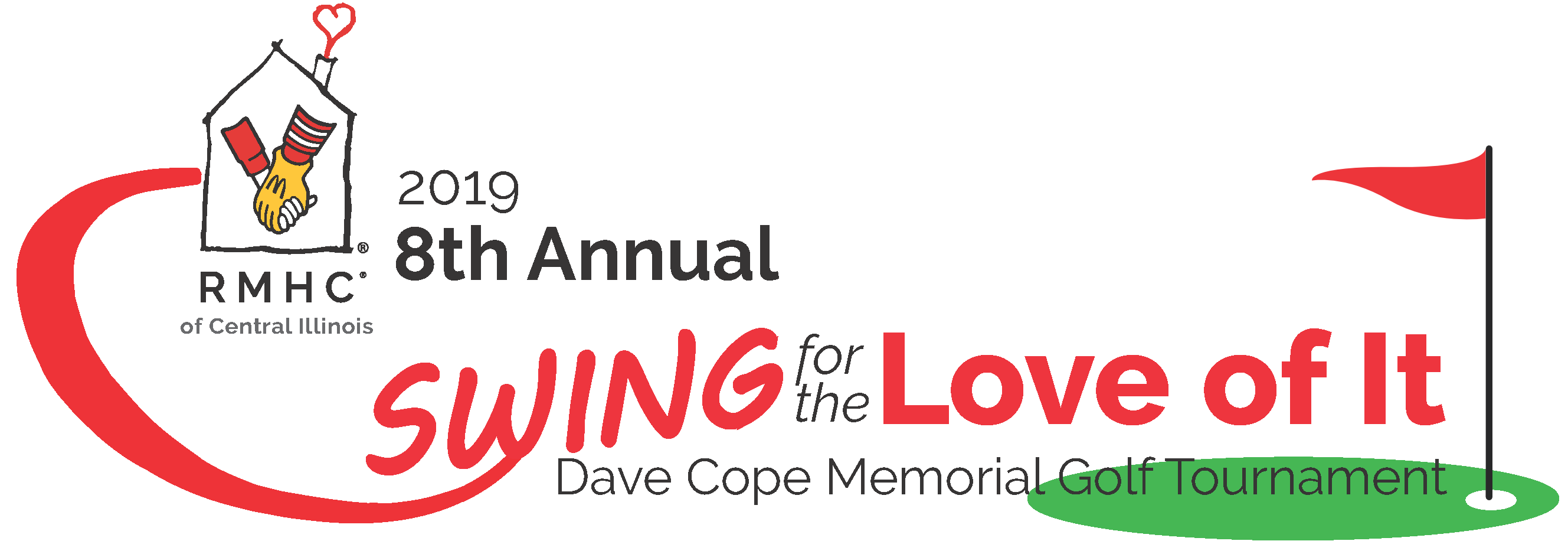 """Join us for the 8th Annual Dave Cope """"Swing for the Love of It"""" Memorial Golf Tournament on Tuesday September 10, 2019!"""