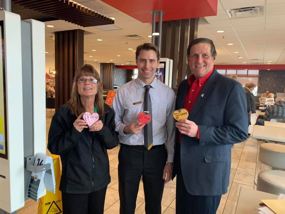 Visit your favorite central Illinois McDonald's® and donate $1 or more to help families stay close.