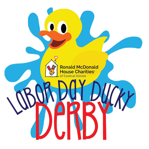 Join us on Monday, September 6, 2021, at 11 am for our annual Labor Day Ducky Derby at Knight's Action Park! Proceeds from this event will support the families at Ronald McDonald House Charities® of Central Illinois.
