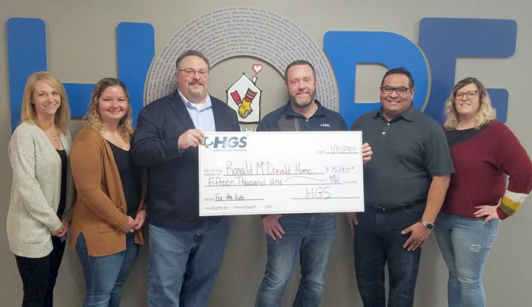 Thank you, HGS Peoria, for your incredible generosity! Your support helps us serve families and achieve our mission of keeping families close. We are so grateful!