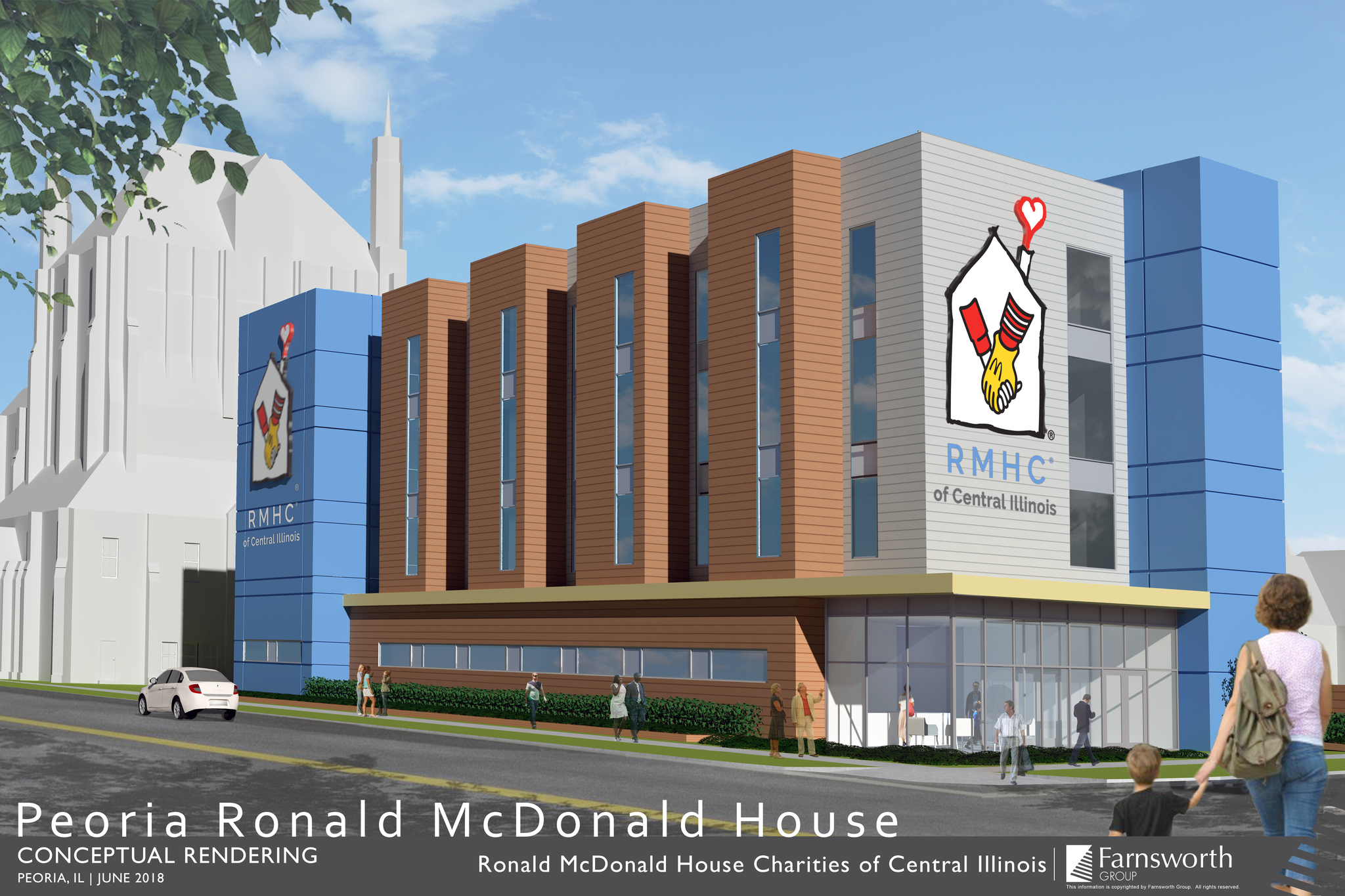 Ronald McDonald House Charities of Central Illinois is the latest addition to the city's medical district.