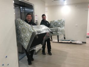 New furniture arrives at the Peoria Ronald McDonald House®.