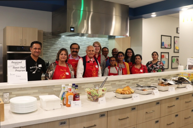 Thank you to The Asian Indian Community of Peoria who sponsored the family dining room at the Peoria Ronald McDonald House, where guest chefs provide delicious meals to families staying at the Peoria House.