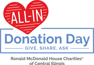 All-In Donation Day is March 9, 2021! Our goal is to raise $20,000 in 24 hours and to help fulfill our wish list items. It's simple: Give, Share, Ask! to go