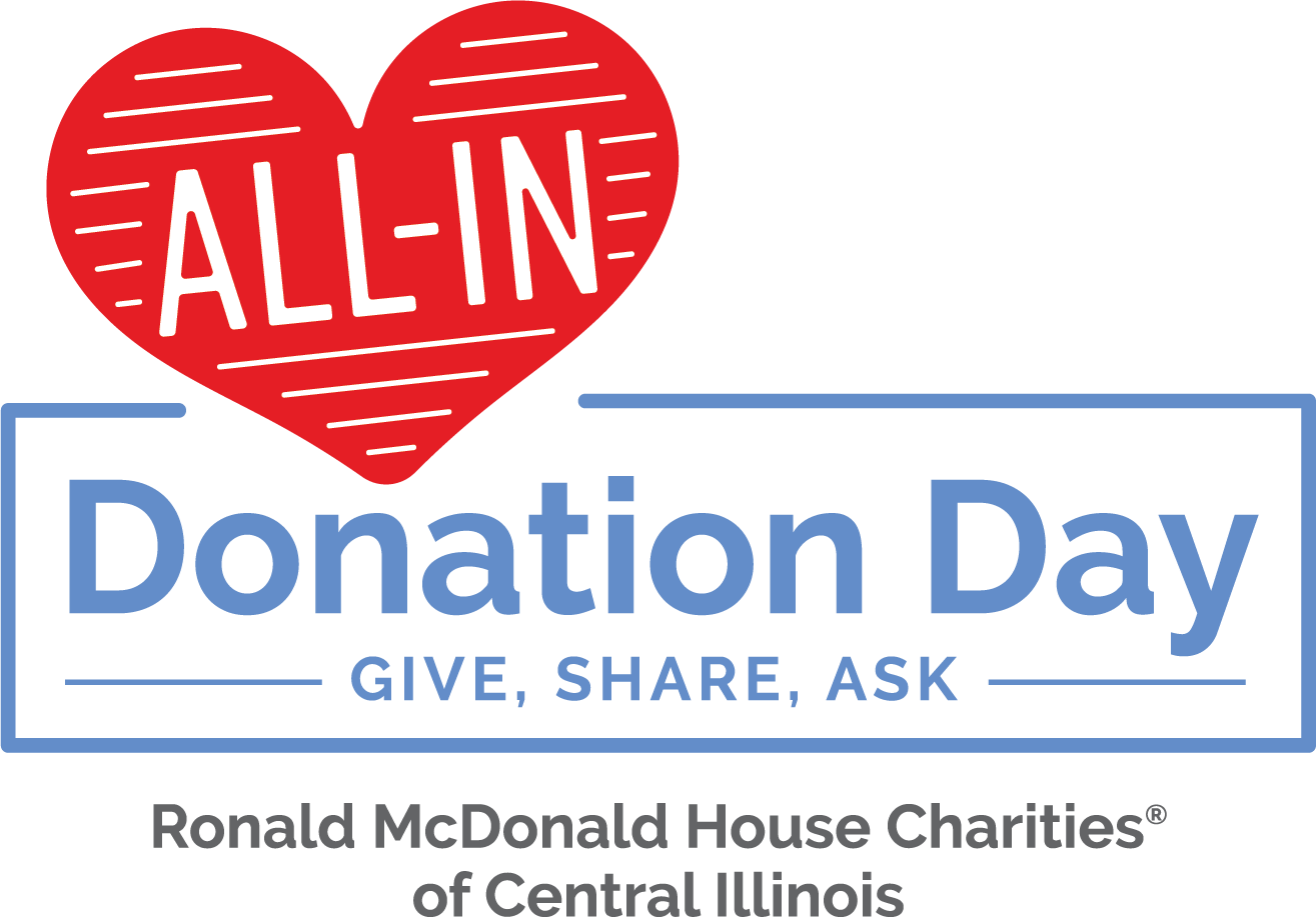 "All-In Donation Day is April 2, 2020! Our goal is twofold: raise $30,000 in 24 hours and help fulfill our wish list items. Are you ""All-In"" for RMHCCI?"