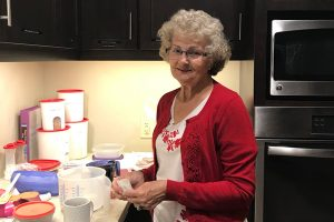 Sweet Treats - Every Thursday for the last seven years, Carolyn Dennis fires up the oven at the Springfield Ronald McDonald House® to make cookies from scratch.