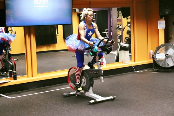 Cycle for Hope is a 4-hour cycling event that includes outdoor cycling, spin bike sessions hosted at local gyms, and your own personal in-home cycle.