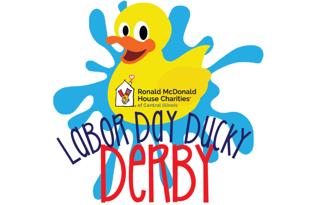 Ronald McDonald House Charities of Central Illinois (RMHCCI) will hold their second annual Labor Day Ducky Derby on Monday, September 3, 2018 at 11:00 a.m. at Knight's Action Park.