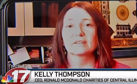 The CEO of Ronald McDonald Charities of Central Illinois, Kelly Thompson, says a measure was put into place to protect families that were already staying at the house.