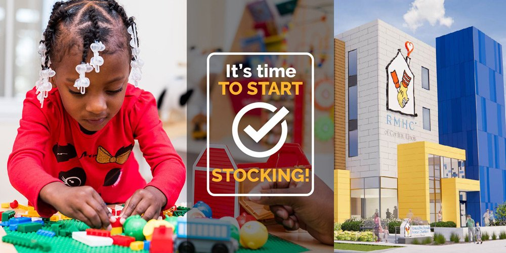 Help stock our new Ronald McDonald House® in Peoria, IL!