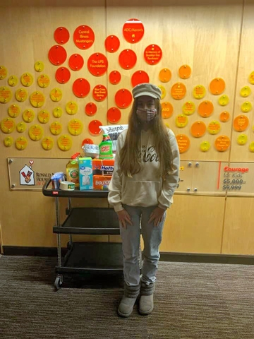 As part of our Home for the Holidays campaign, members of the Ronald McDonald House Charities of Central Illinois Springfield Teen Council collected both items from our wish list and monetary donations.