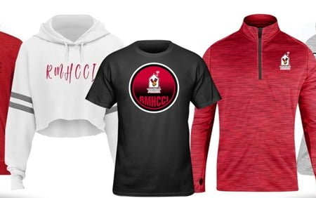 Purchase your favorite RMHCCI gear. A portion of the proceeds directly benefit our Houses and the families we serve!