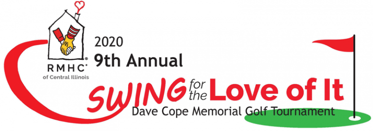 "Join us for the 9th Annual Dave Cope ""Swing for the Love of It"" Memorial Golf Tournament on Tuesday September 15, 2020!"