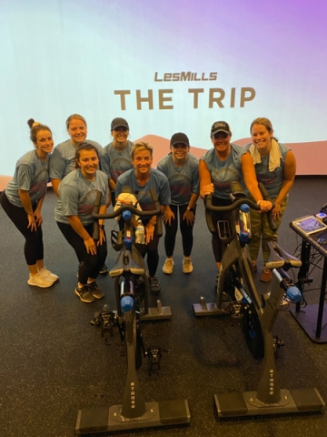 Thank you to the team at Styles for joining in our Cycle for Hope event!