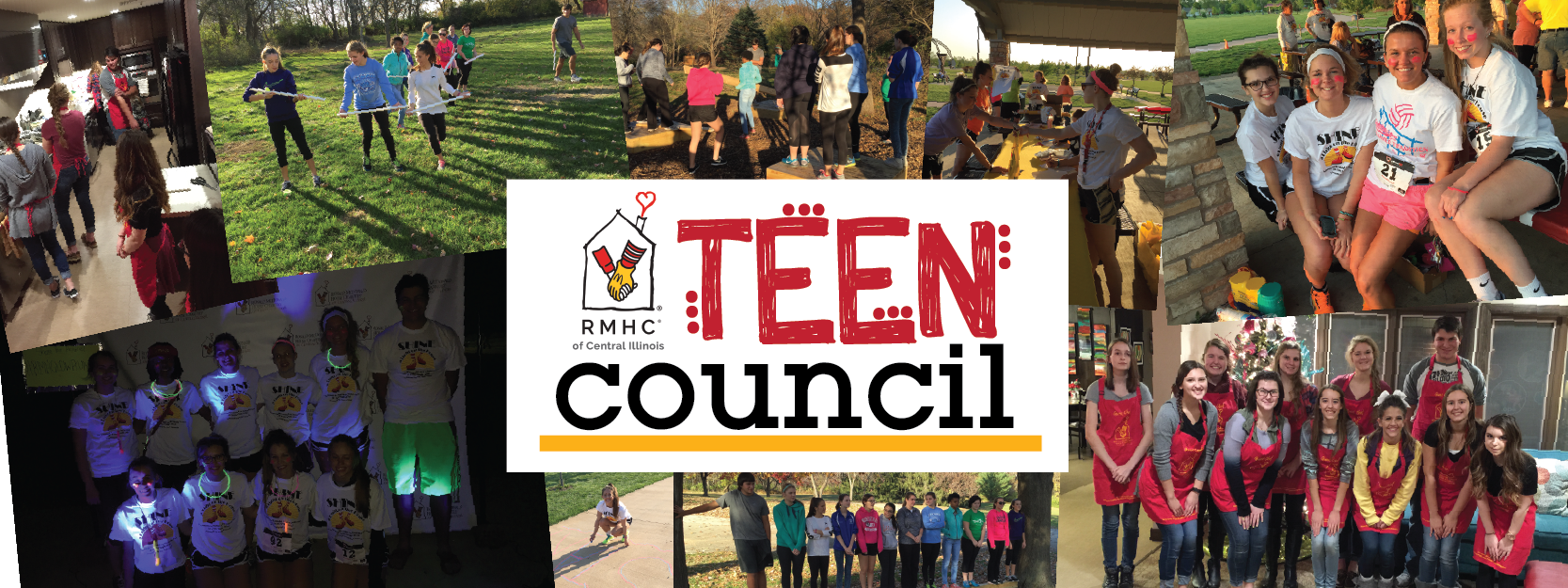 Through the Teen Council year, students strengthen and develop skills in leadership, teamwork, responsibility and communication, while supporting the mission of the House to serve children and families.